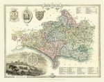 Thomas Moules Map of Dorsetshire 1837