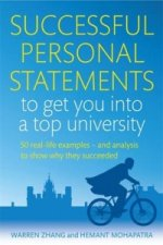 Successful Personal Statements to Get You into a Top Univers