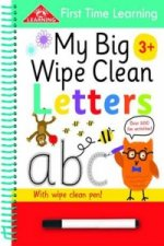 First Time Learning Wipe Clean Book Letters