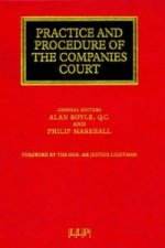 Practice and Procedure of the Companies Court