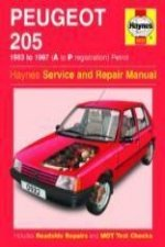 Peugeot 205 Petrol (1983-1997) Service and Repair Manual