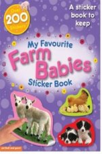 My Favourite Farm Babies Sticker Book