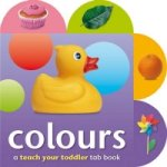 Teach Your Toddler Tabs Colours
