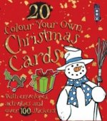 Colour Your Own Christmas Cards with Envelopes