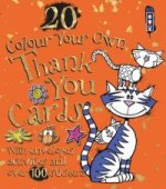 Colour Your Own Thank You Cards with Envelopes
