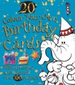 Colour Your Own Birthday Cards with Envelopes