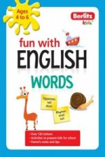Berlitz Language: Fun with English: Words (4-6 Years)