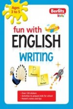 Berlitz Language: Fun with English: Writing (3-5 Years)