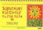 Sluníčkový kalendář 2014 - stolní