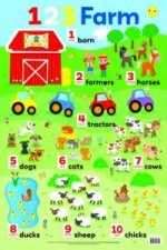 Counting on the Farm Wall Chart