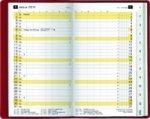 Plankalender M-planer sw Alpha, schwarz 2020
