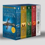 George R. R. Martin's A Game of Thrones 5-Book Boxed Set (Song of Ice and Fire Series) : A Game of Thrones, A Clash of Kings, A Storm of Swords, A Fea