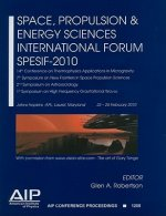 Space, Propulsion & Energy Sciences International Forum SPESIF-2010