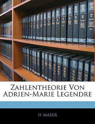 Zahlentheorie Von Adrien-Marie Legendre