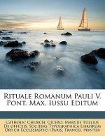 Rituale Romanum Pauli V. Pont. Max. Iussu Editum
