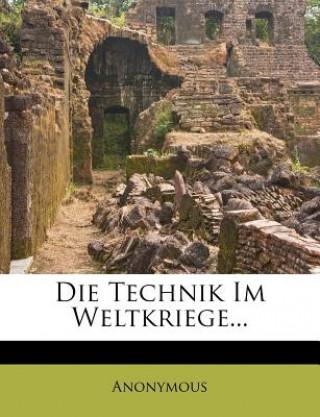Die Technik Im Weltkriege
