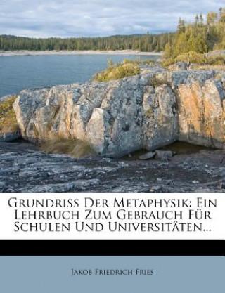 Grundriß der Metaphysik.