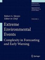 Extreme Environmental Events, m. 1 Buch, m. 1 E-Book, 2 Teile