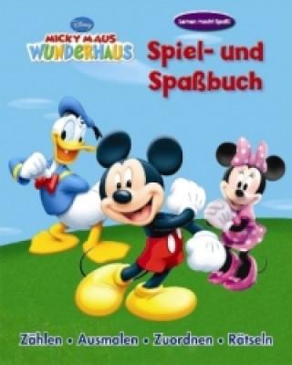 Micky Maus Wunderhaus, Spiel- und Spaßbuch