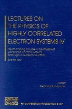 Lectures on the Physics of Highly Correlated Electron Systems IV