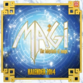 Magi - The Labyrinth of Magic Wandkalender 2014
