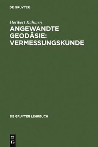 Angewandte Geodäsie: Vermessungskunde