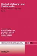 Deutsch als Fremd-und Zweitsprache Handbucher zur Sprach- und Kommunikationswissenschaft / Handbooks of Linguistics and Communication Science (HSK) De