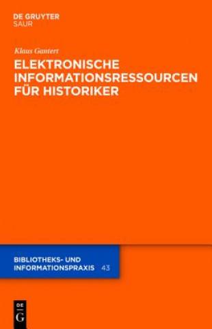 Elektronische Informationsressourcen Fur Historiker