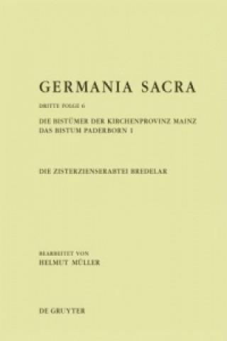 Die Zisterzienserabtei Bredelar. Die Bistümer der Kirchenprovinz Mainz. Tl.1