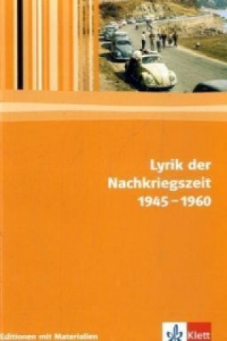Lyrik der Nachkriegszeit 1945-1960