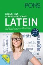 PONS Grund- und Aufbauwortschatz Latein nach Themen, m. Download von Audio-Übungen