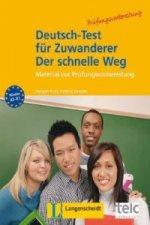 Deutsch-Test für Zuwanderer - Der schnelle Weg, m. Audio-CD