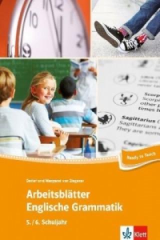 Arbeitsblätter Englische Grammatik, 5./6. Schuljahr