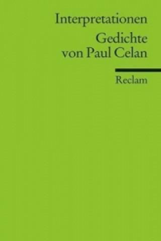Gedichte von Paul Celan