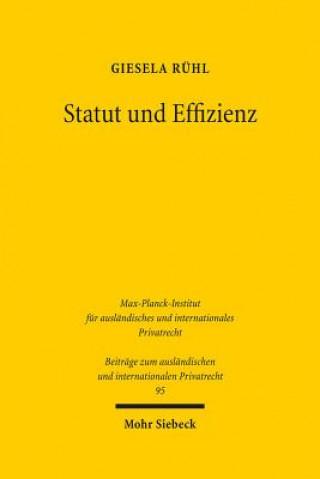 Statut und Effizienz