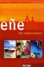Niveau A1, Kursbuch u. Arbeitsbuch, m. 2 Audio-CDs
