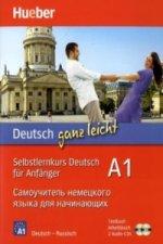 Deutsch ganz leicht A1 (russische Ausgabe), Textbuch + Arbeitsbuch + 2 Audio-CDs