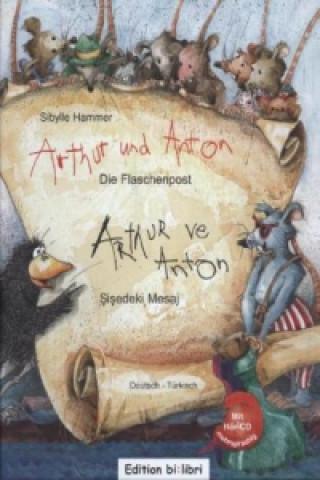 Arthur und Anton: Die Flaschenpost, Deutsch-Türkisch. Arthur ve Anton: Sisedeki Mesaj