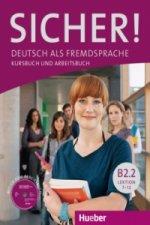 Deutsch als Fremdsprache / Kurs- und Arbeitsbuch mit CD-ROM zum Arbeitsbuch, Lektion 7-12. Tl.B2.2