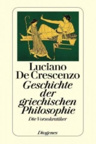 Geschichte der griechischen Philosophie, Die Vorsokratiker