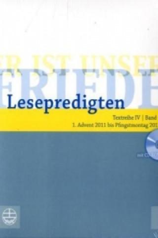Lesepredigten - 1. Advent 2011 bis Pfingstmontag 2012