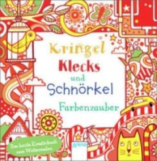 Kringel, Klecks und Schnörkel - Farbenzauber