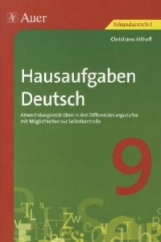 Hausaufgaben Deutsch Klasse 9