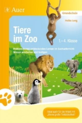 Tiere im Zoo, 1.-4. Klasse