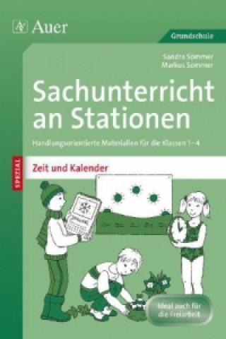 Sachunterricht an Stationen SPEZIAL - Zeit und Kalender