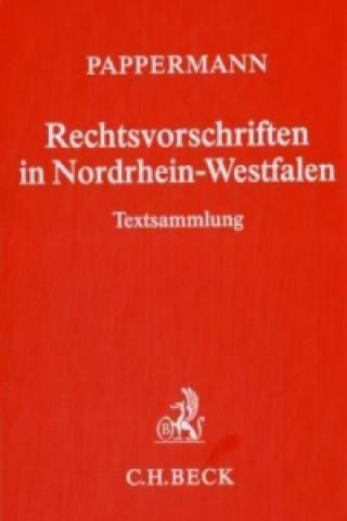 Rechtsvorschriften in Nordrhein-Westfalen, Grundwerk ohne Fortsetzung