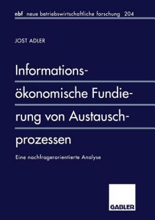 Informations konomische Fundierung Von Austauschprozessen