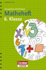 Matheheft 6. Klasse