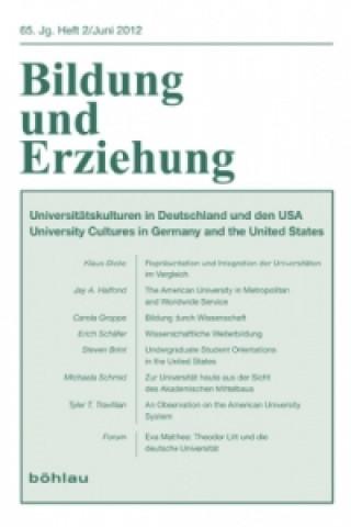 Universitätskulturen in Deutschland und den USA