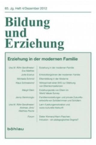 Erziehung in der modernen Familie